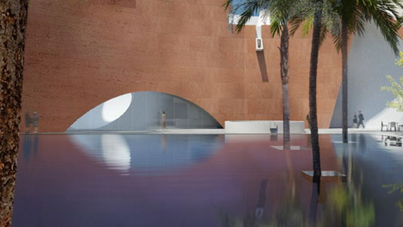 image: Steven Holl to design new wing for Mumbai City Museum by hallowedbronze
