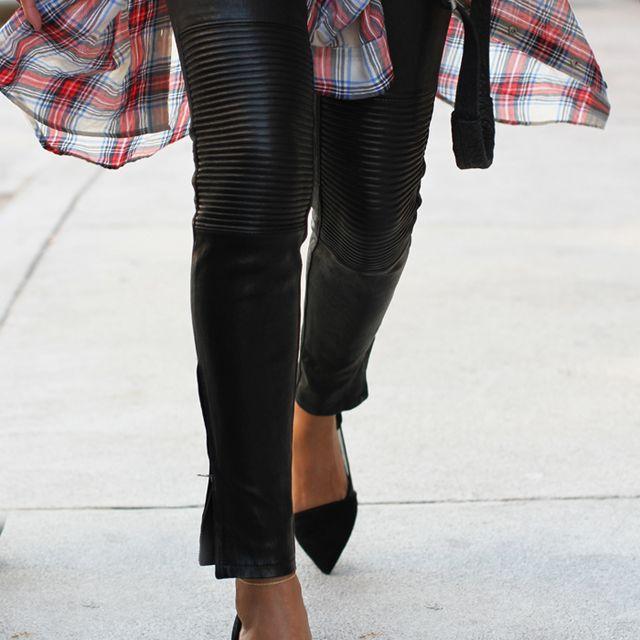 image: leggins and heels by anicorona