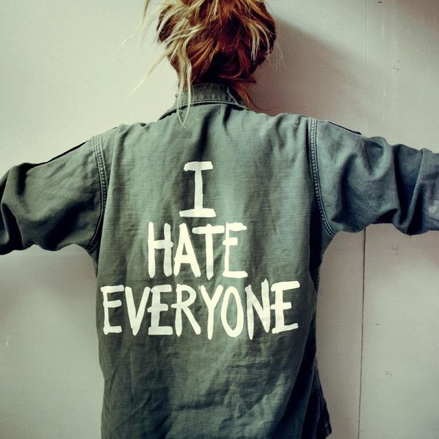 image: i hate everyone by modernghosts