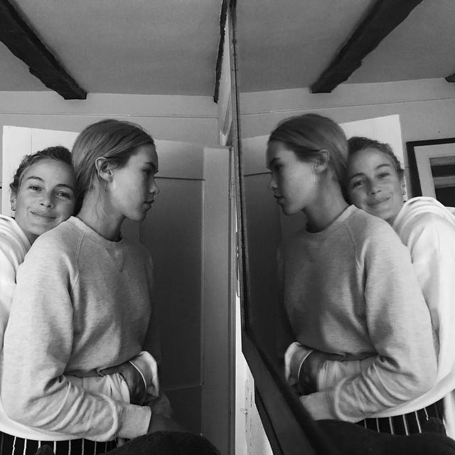 image: Thank you @carolynmurphy and @dylanbleue for a cozy loving surfer weekend. by cassbird