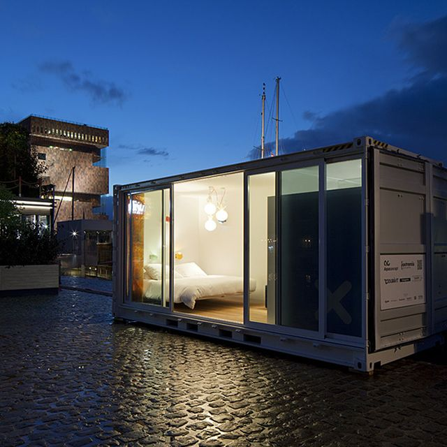 image: Sleeping Around Shipping Container Hotel by goyette