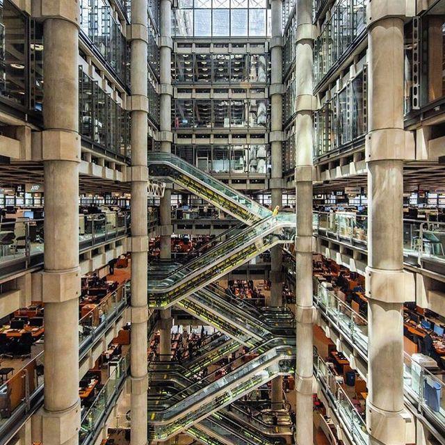 image: Lloydsbuilding in London by designboom