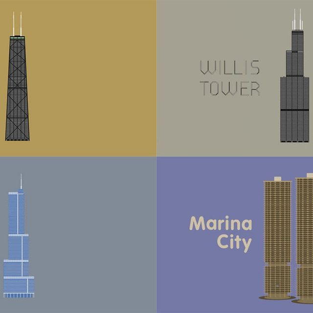 video: Chicago - Five Great Buildings on Vimeo by Saracho