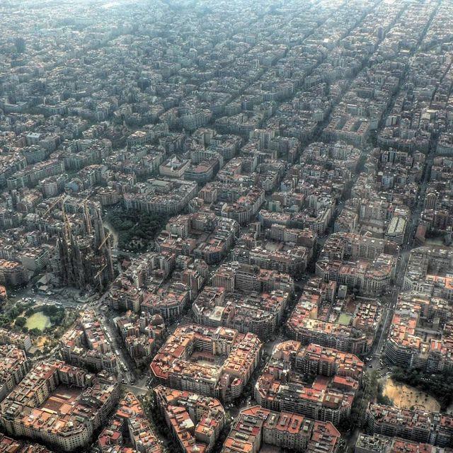 post: 30 ciudades vistas desde el aire by diegotoast