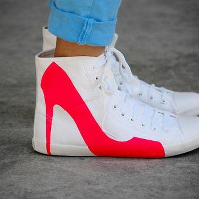 image: Heels in Sneakers by beparfi