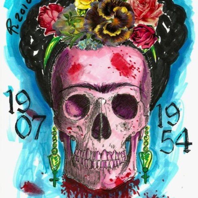image: Frida Kahlo by candysroommagazine