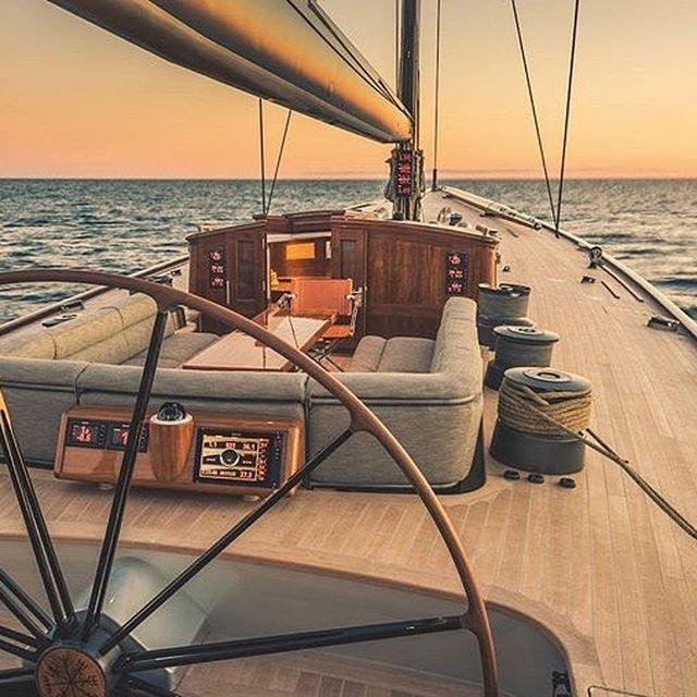image: Good evening onboard 🌅 by spinnakermagazine
