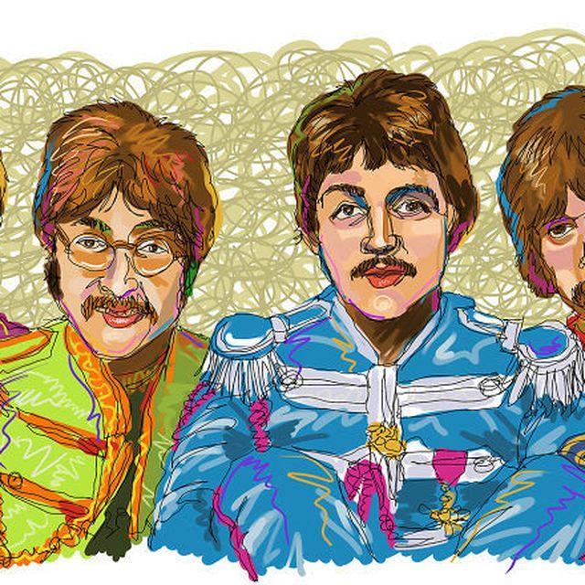 image: The Beatles by jenniferasos