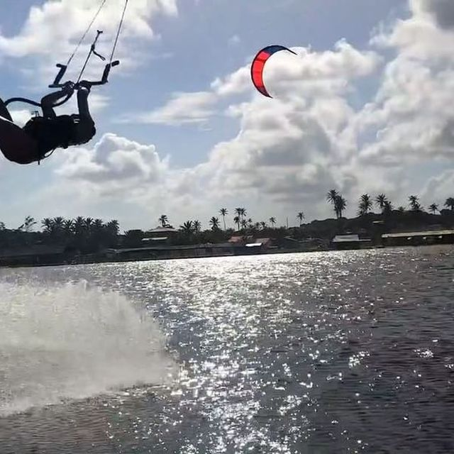 image: How good it feels to be back at my favorite spot ??? @brunotti ??@windvoyager ?? @durobeach #durobeach #brunotti #windvoyager #nomattertheconditions #cauipe #kitebrasil #kitevideo #kitesurfvideo by ritaarnaus