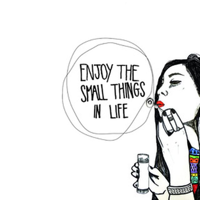 image: Enjoy the small things in life... Art Print by Maria... by villaraco