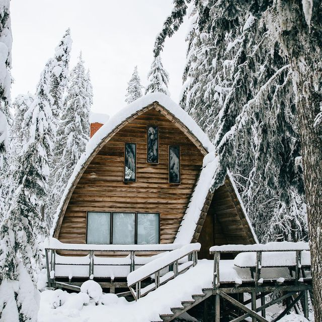 image: All tucked away for the winter. I can only imagine what experiencing seasonal transitions up here would be like... Something like a dream... by lostintheforrest