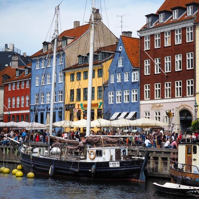 image: My time in Copenhagen was mostly spent watching Netflix in my pajamas - because sometimes you just need a day off from traveling, especially on a longer trip. There's no shame in that!I did, however, take a free walking tour of the city and got my... by dangerousbiz
