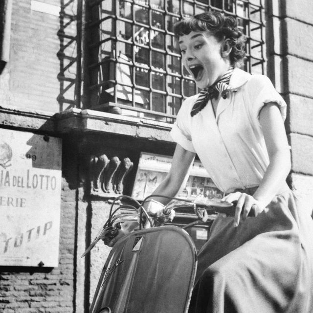 image: Audrey (and her Vespa) by aaragues