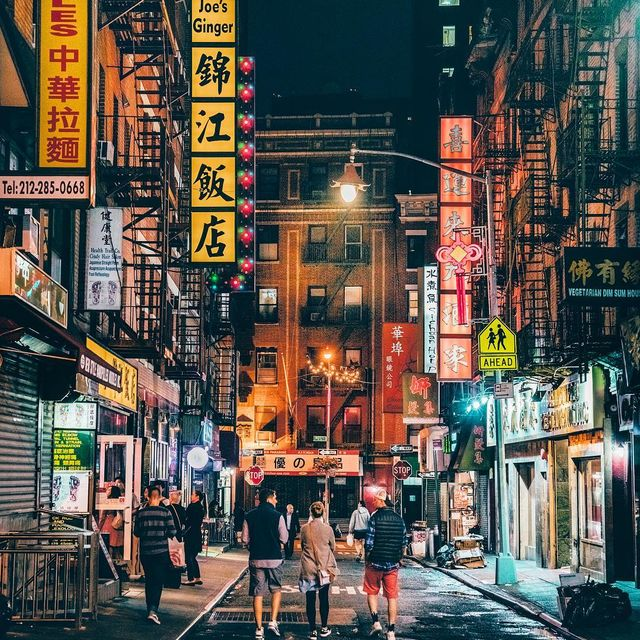 image: Chinatown in NYC by yayitsyanan