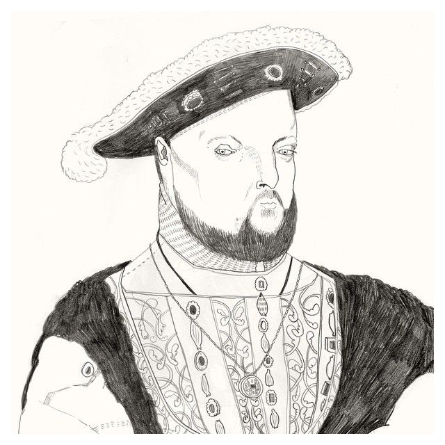image: Hans Holbein The Younger. Part of a New collection /... by little_isdrawing