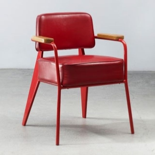 image: FAUTEUIL DIRECTION BY JEAN PROUVÉ, 1951 by nosyparker