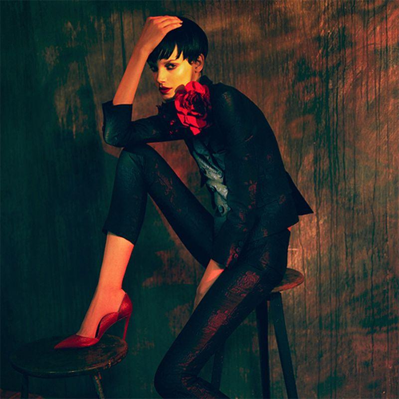 image: Jessica Pitti Does 'Neo Romantik' By Stefan Milev by fashionnet