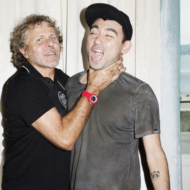 image: Nicola Formichetti & Renzo Rosso by alvarodelgado