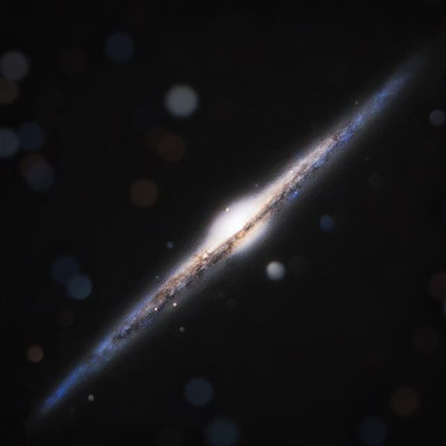image: Galaxy On Edge by thehubblescope