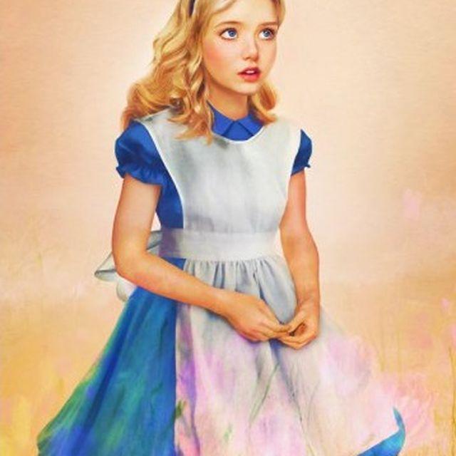 image: Alice in Wonderland by ally_crespo