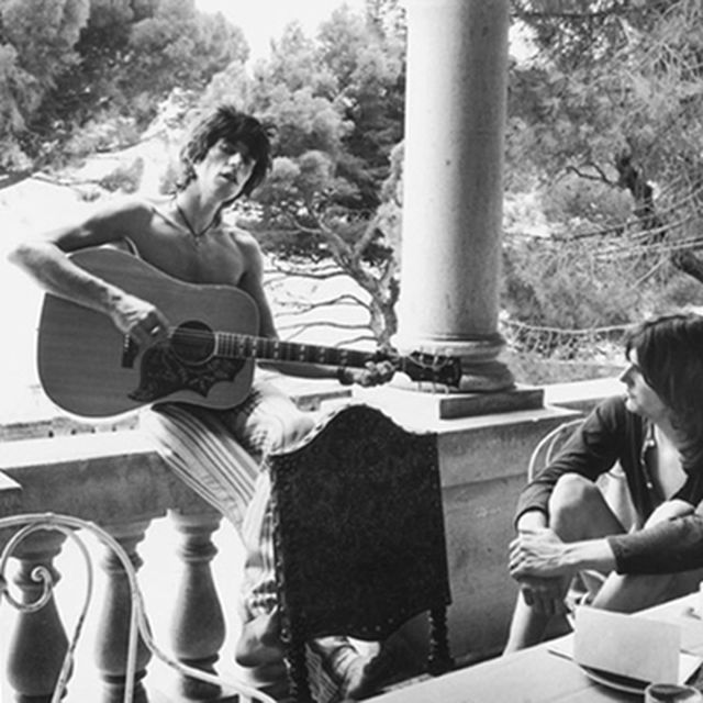 image: Keith Richards and Gram Parsons by bea88
