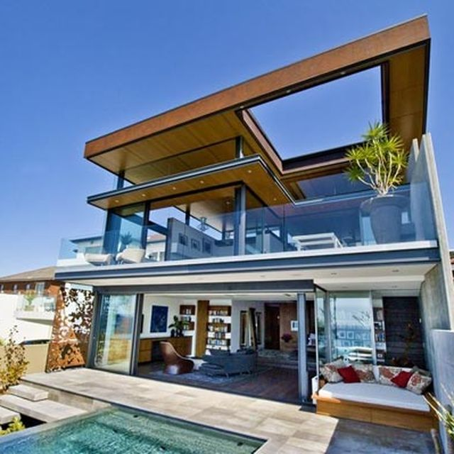 image: Bronte House – Modern Architecture by Rolf Ockert Desig by pattercoolness