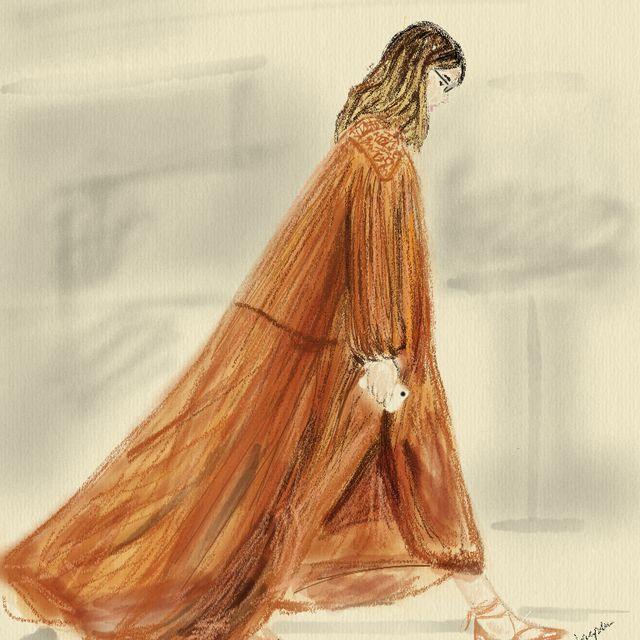 image: Ilustración Veronika Heilbunner by heelspeplum