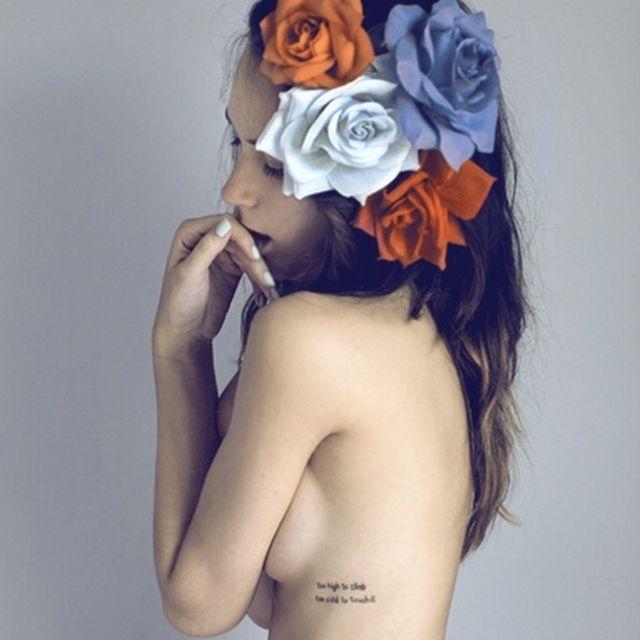 image: flores en mi cabeza by arceados