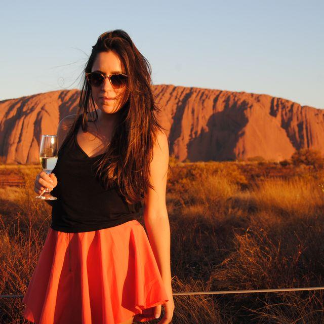 image: Uluru Sunset by worldwithoutwinter