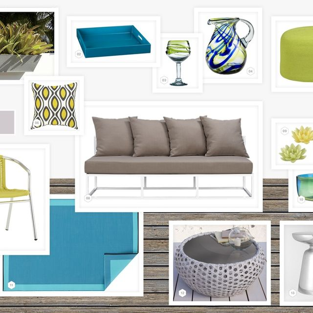 image: FRESHLY SQUEEZED CITRUS PATIO from LookNook.co by annemarie