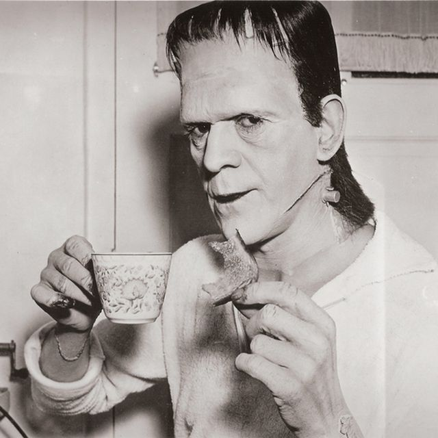 image: Frankenstein having breakfast by bea88