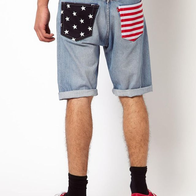 post: Reclaimed Vintage denim shorts by 2diamonds