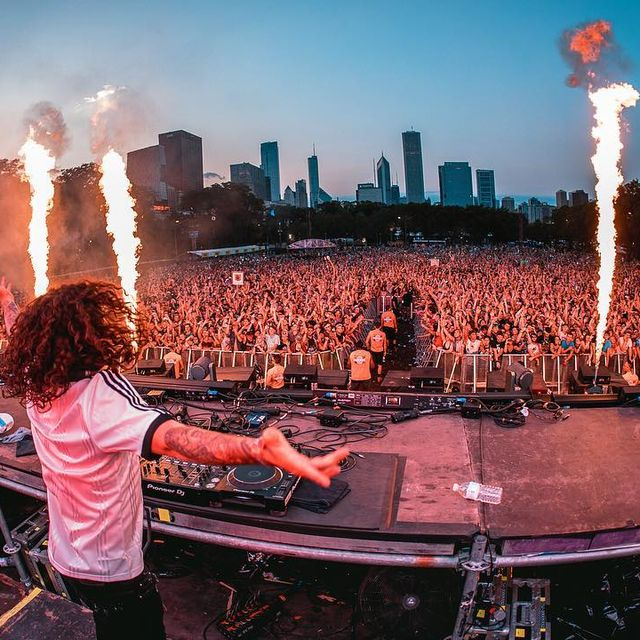 image: Closed out Lolla wknd last night with @DVBBS ???? by chrisyoder