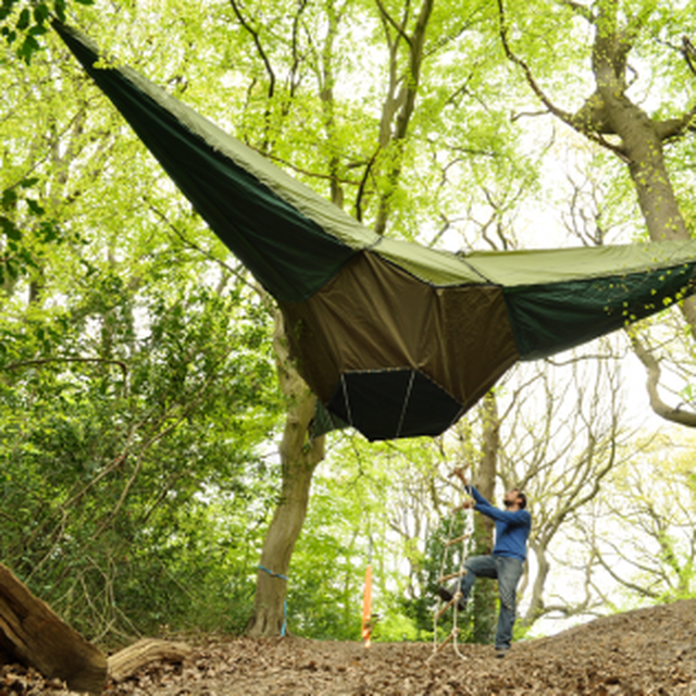 image: Suspended Camping tent by Tentsile by mayweather