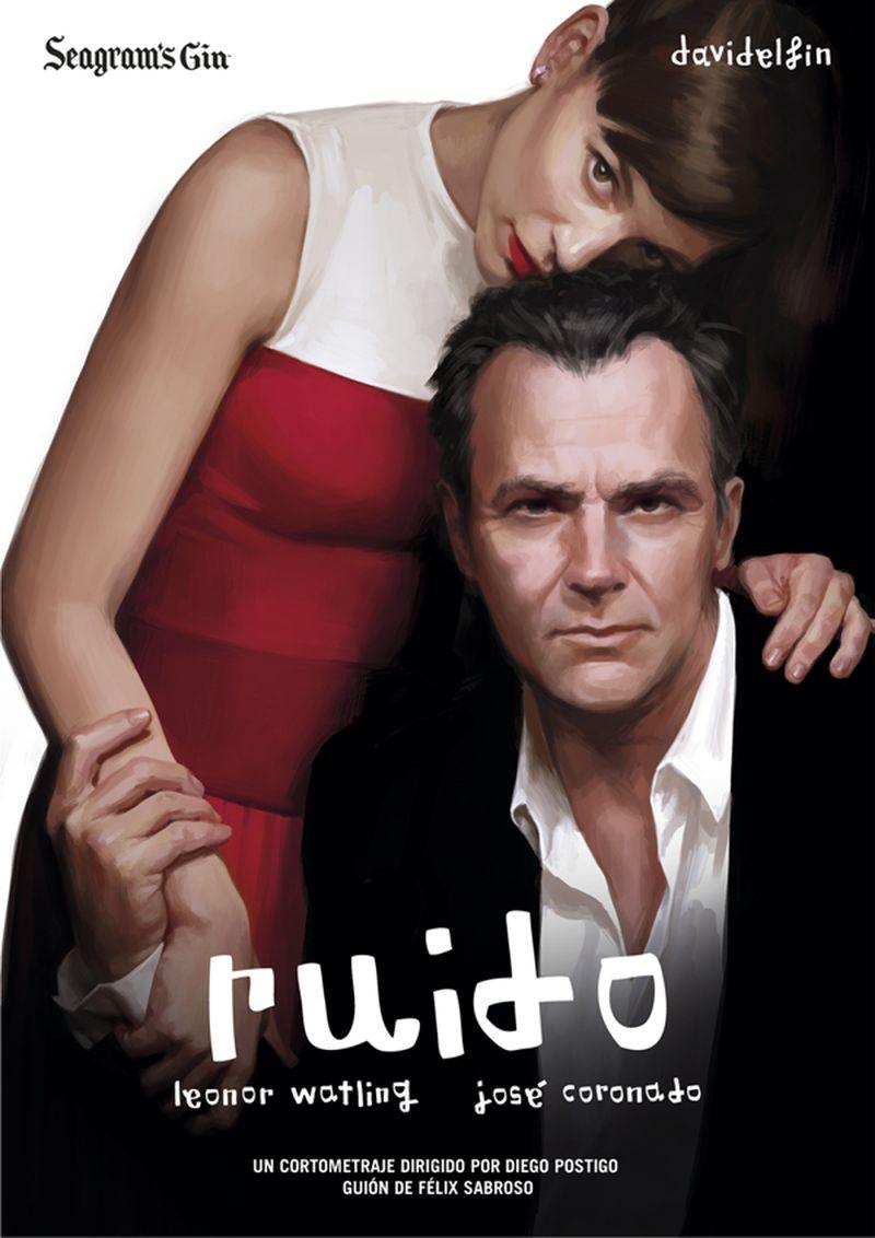 image: 'RUIDO' Short film Poster by ignasimonreal