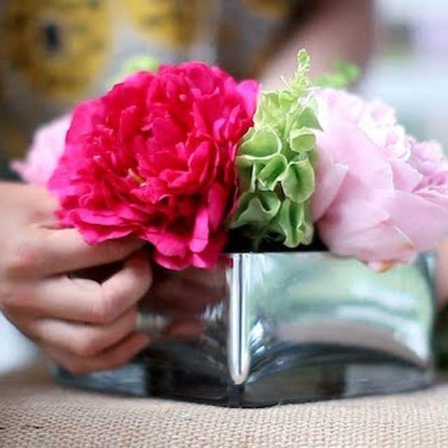video: DIY Floral Arrangement: Pretty in Peonies by mariash