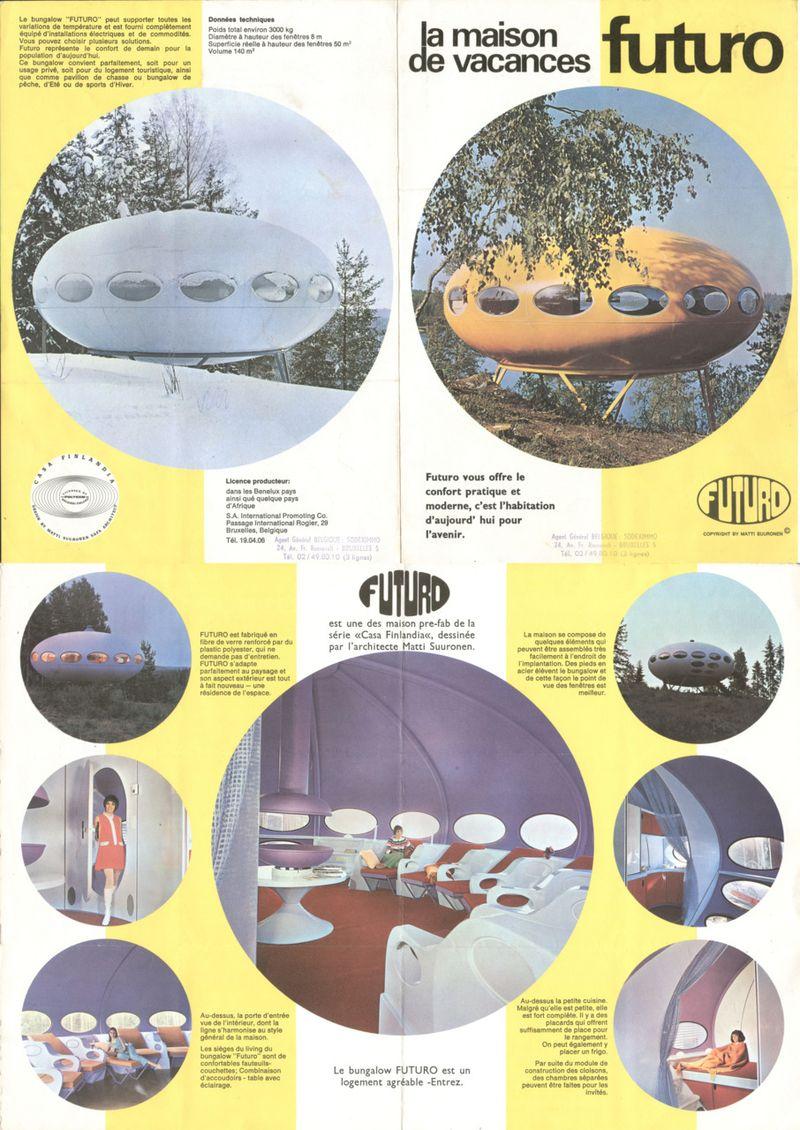 image: Futuro House, Matti Suuronen, 1968 by martinvazquez