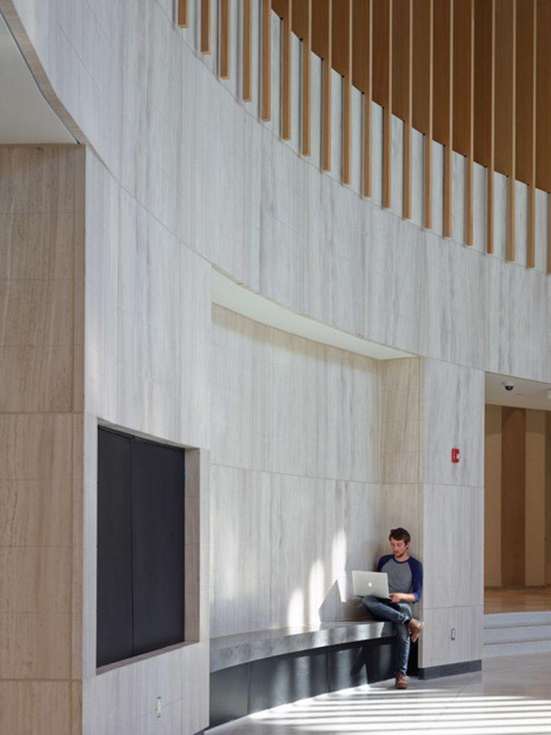 image: Courtyard becomes rotunda inside Toronto university ... by waryamaranth