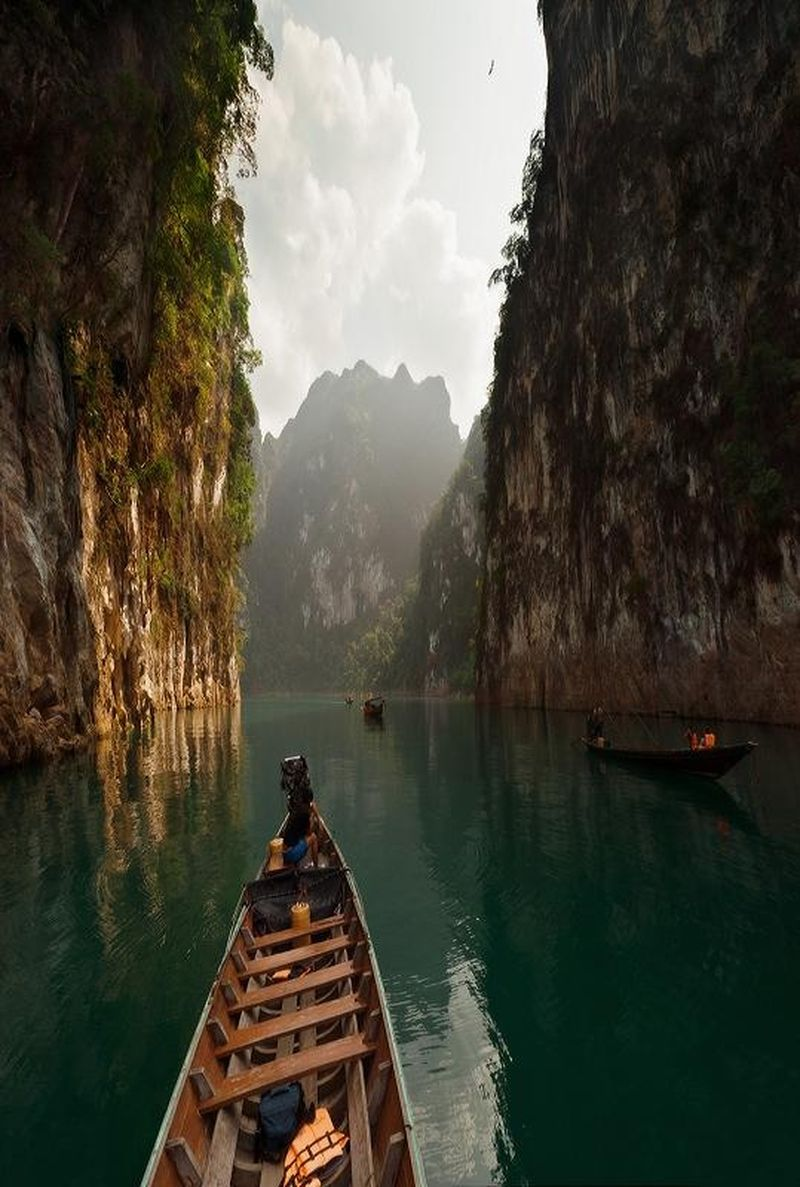 image: Chiew Larn Lake by reixlc