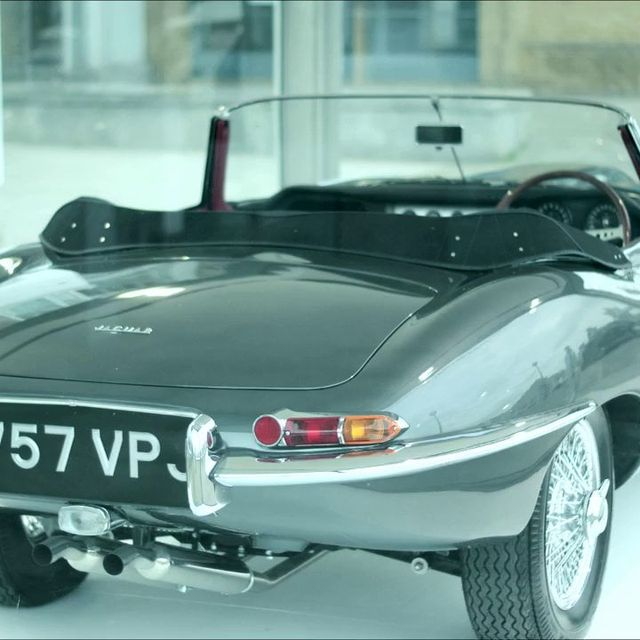 video: Jaguar E-Type '50 years' by martinvazquez