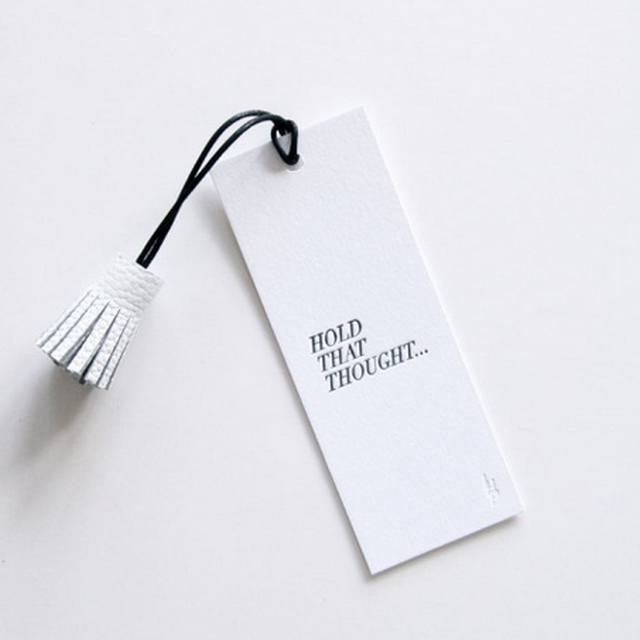 image: Hold That Thought by amaa