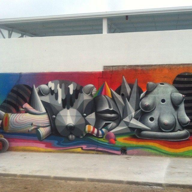 image: detaill *Naturaleza Muerta* mural / Cuchia. Cantabri... by oscar_sanmiguel