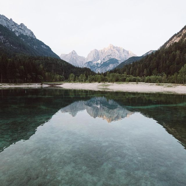 image: Waking up to see a sunrise is never easy, but it's always worth it. // ~5:30am first week of July 2017, Jezero Jasna (Lake Jasna),... by itsbigben