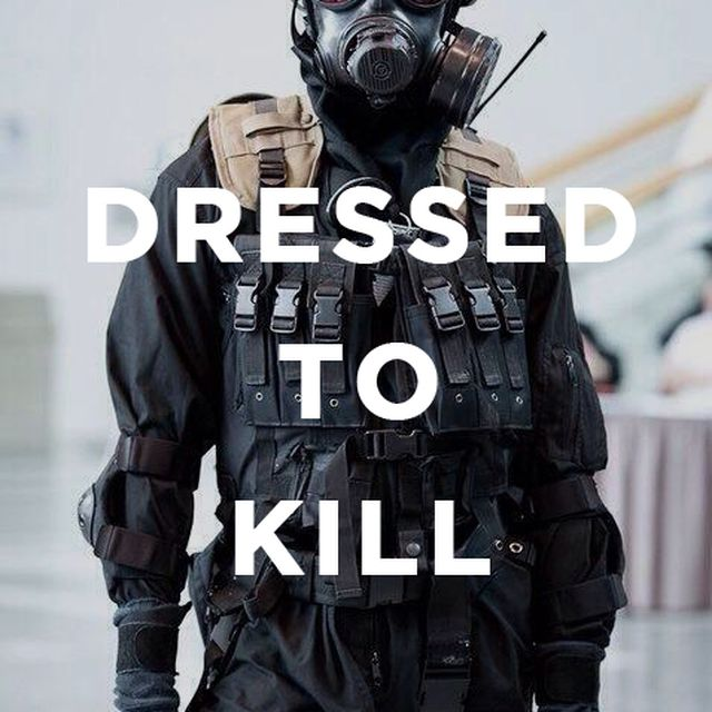 image: Dressed to kill by obesoandco