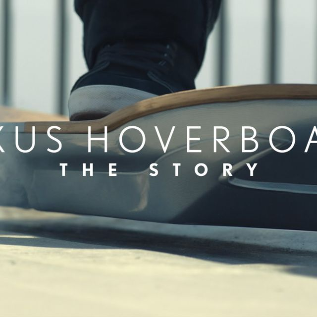 video: The Lexus Hoverboard: The Story by techmeout