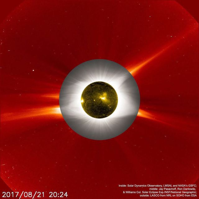 image: Neither rain, nor snow, nor dark of night can keep a space-based spacecraft from watching the Sun. In fact, from its vantage point 1.5 million kilometers sunward of planet Earth, NASA's SOlar Heliospheric Observatory (SOHO) can always monitor the Sun's... by astronomypicturesdaily