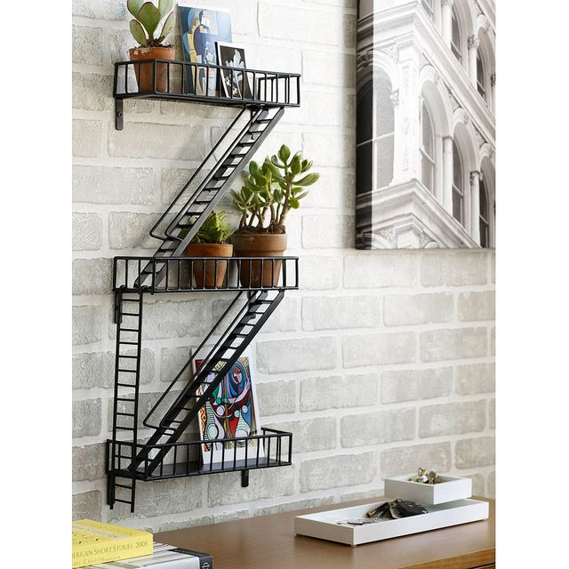 image: Fire escape shelf by debs