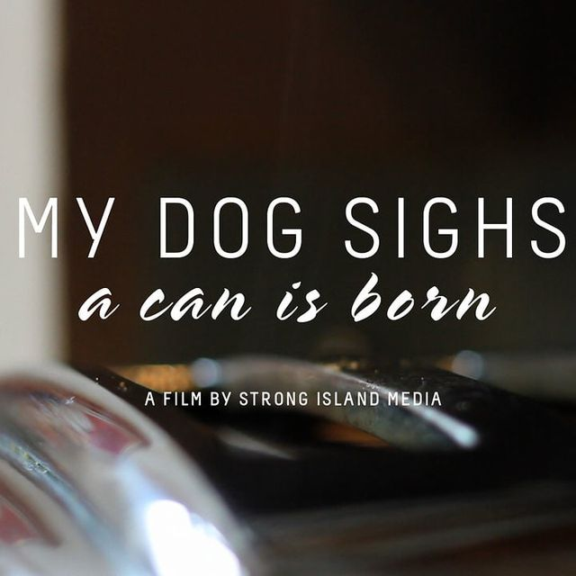 video: MY DOG SIGHS - A CAN IS BORN by nick-peterson