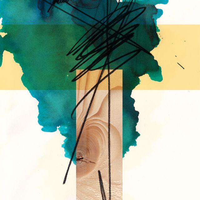image: Woodone Art Print by Sonia Garcia | Society6 by decmykargb