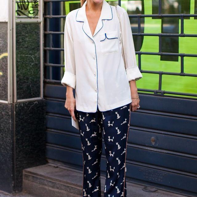 image: Pijama Look - Marina Larroude by valentinasilva